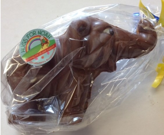 Elephant in Belgian Chocolate