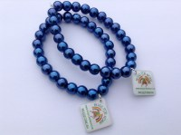 royal-blue-glass-bead-stretch-bracelet